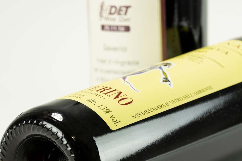 Etichette adesive INDET per vino personalizzate